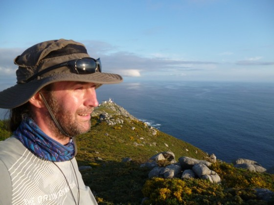 me at the cape finisterre