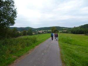 unterwegs nach Reichenbach