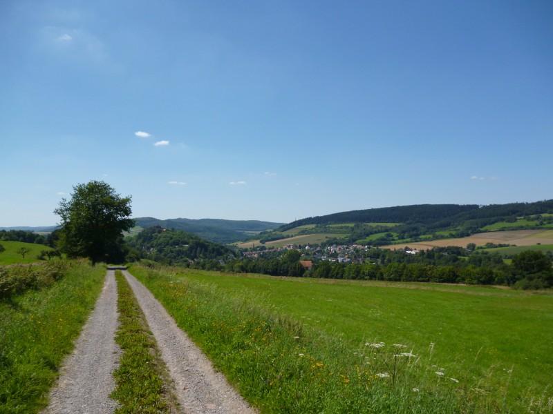 unterwegs nach Spangenberg