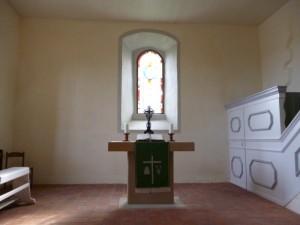 Altar der Kirche on Seena