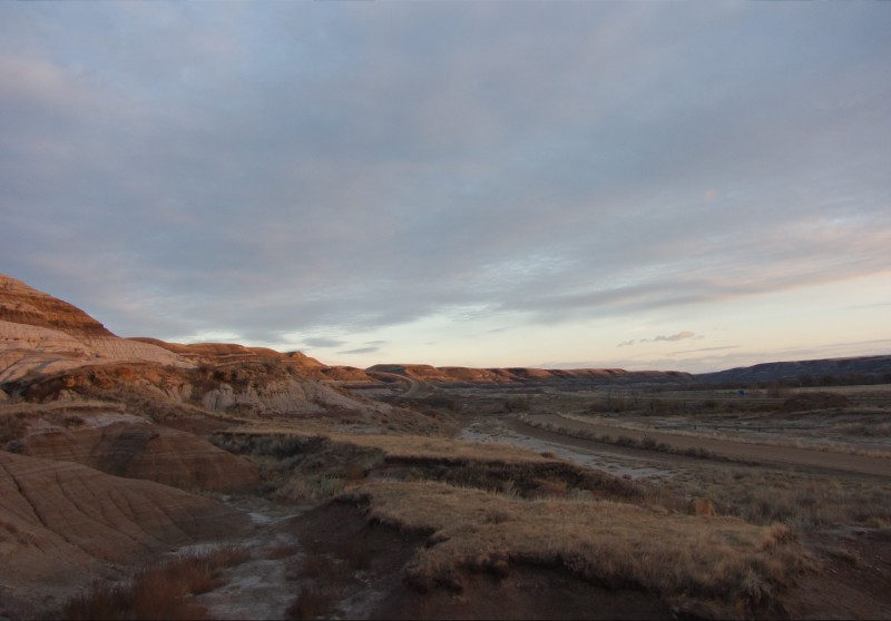 sunset near by the hoodoos